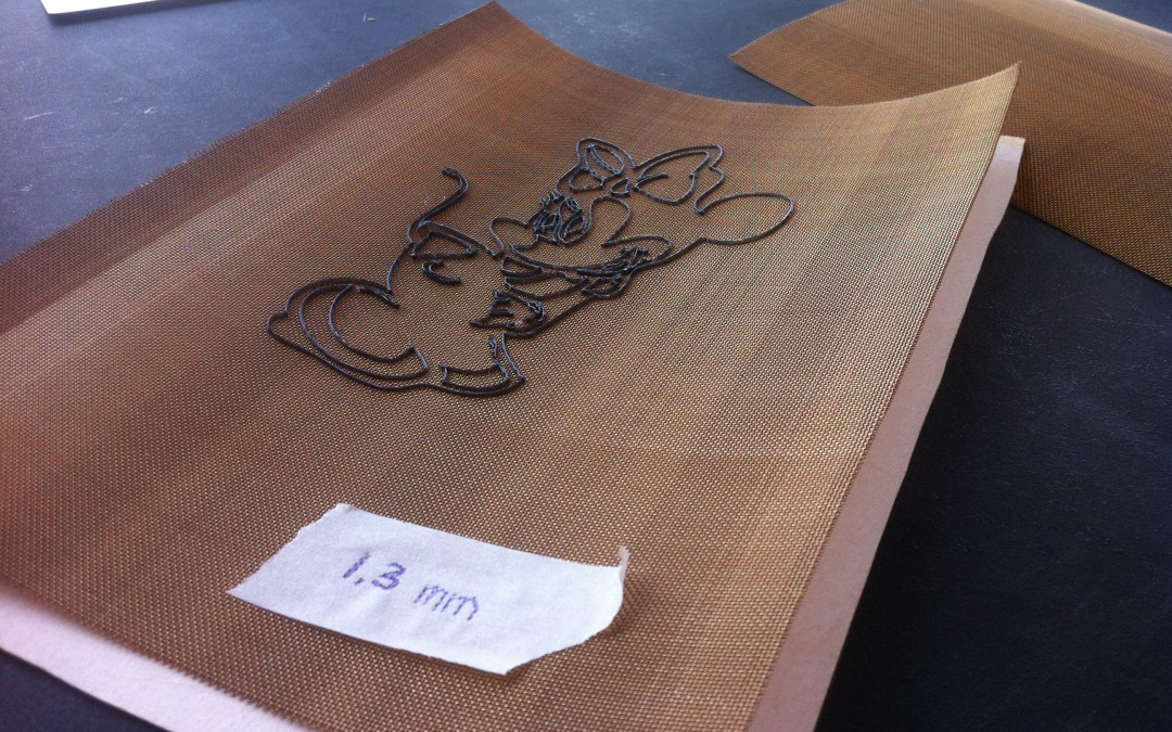 MARTIN CUPPEN   3D printed watermarks