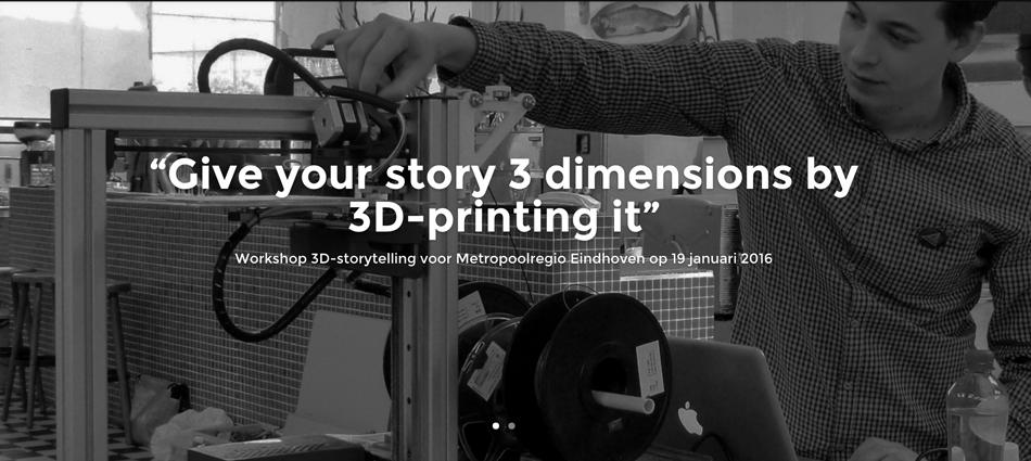3D STORYTELLING | Metropool Regio Eindhoven